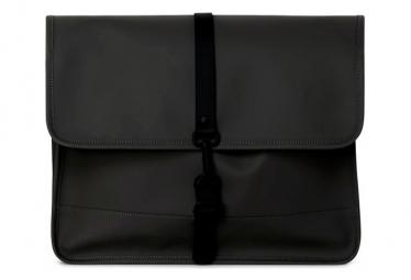 Rains Commuter Messenger Bag Black