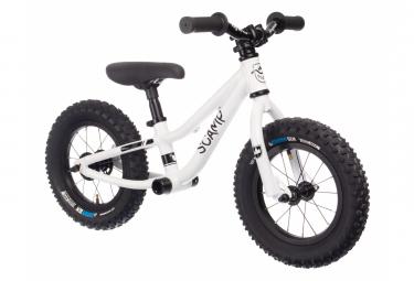 Bicicleta de equilibrio 12 '' Scamp MiniFox 12 Blanco