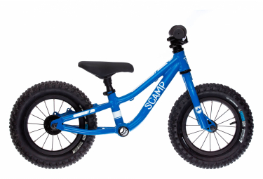 SCAMP 12 '' MiniFox Blue Balance Bike