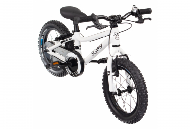 Bicicleta infantil SCAMP 14 '' SmallFox 14 Bike Blanco