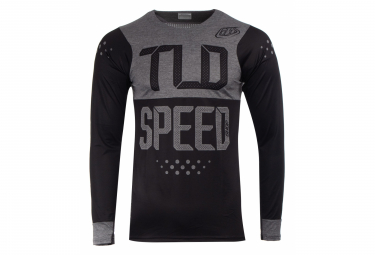 Maillot Manches Longues TROY LEE DESIGNS Skyline Speedshop Noir Gris