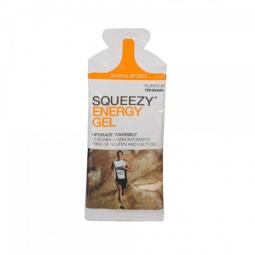 Lot de 12 energy gel squeezy framboise 33g