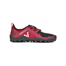 Image of Chaussures vivobarefoot primus trail sg rouge et noir homme 40