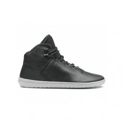 Image of Chaussures vivobarefoot borough homme cuir noir 41