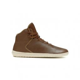 28e2566f16e Chaussures Vivobarefoot Borough Homme Cuir Marron