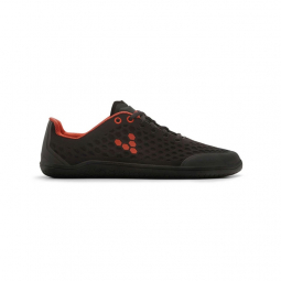 Chaussures Vivobarefoot Stealth 2 BR Femme Noir Rouge