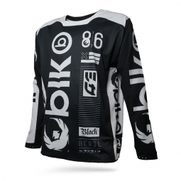 Image of Maillot blackbird rebel spirit noir l
