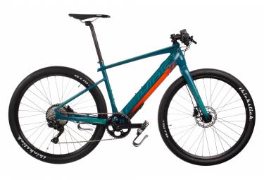Vélo de Ville Électrique Sunn Volt S2 Shimano Deore M6000 10V 250 Vert / Orange 2019
