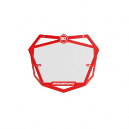 Plaque numéros BMX Stay Strong Mini - red