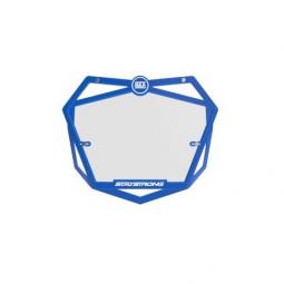 Plaque numéros BMX Stay Strong Pro - blue