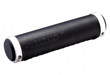 Ritchey Classic Locking Grips Leather Black 130mm