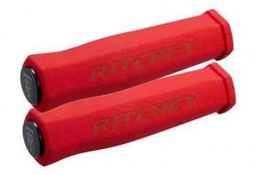 Paire de Grips Ritchey WCS TrueGrip Rouge