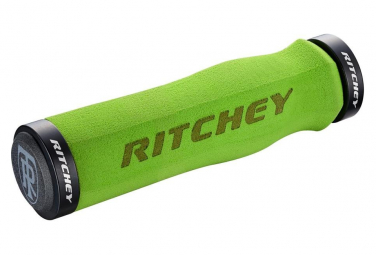 Ritchey WCS Ergo Locking 4-bolts Grips Green 130mm