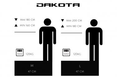 VTT électrique Semi-Rigide URBANBIKER Dakota 27.5'' Rouge - Batterie 840 Wh Moteur 350W / 160 - 180 cm