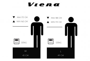 Vélo VTC électrique VIENA bleu 26'' , Batterie Lithium (Cellules Samsung) 840 Wh (48 V et 17,5 Ah), moteur UBKSystems 350 W , Taille 45, Freins hydrauliques. Livré 85% monté.