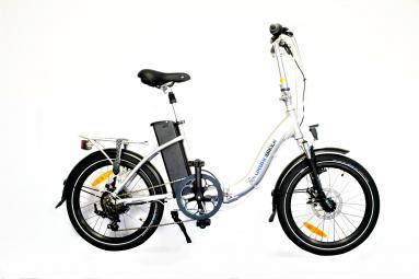 Vélo Pliant Électrique Urbanbiker MINI Shimano Tourney 6V 400 Argent 2019