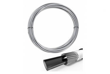 ELVEDES 10m Transmission Outer Casing silver with 5.0mm liner