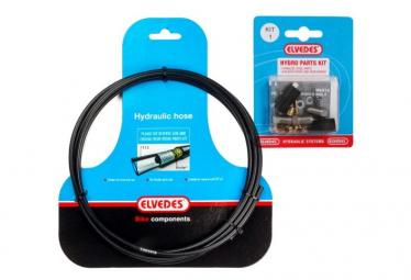 ELVEDES SRAM/AVID Code/New Code/Juicy 3 Brake Hose Kit Black