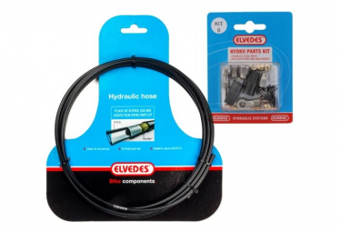 ELVEDES FORMULA MEGA/R/R1 Brake Hose Kit Black