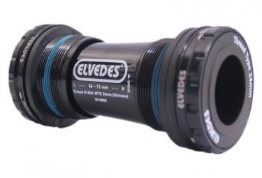 Image of Boitier de pedalier elvedes bsa mtb 24mm shimano