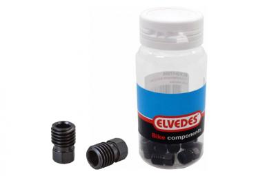 Scatola da 10 dadi di compressione ELVEDES M9x1.25 in acciaio inossidabile