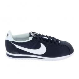 Basket mode, SneakerBasket mode - Sneakers NIKE Cortez Nylon Bleu blanc