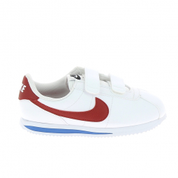 Basket mode, Sneaker NIKE Cortez PS C Blanc Rouge