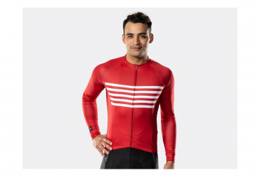 Maillot manches longues Bontrager Circuit Cardinal Stripe
