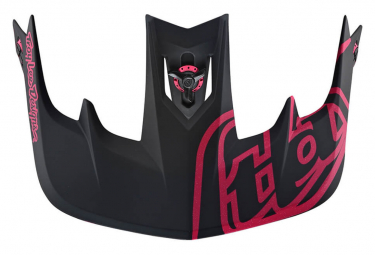 TROY LEE DESIGNS Helmet Visor Stage Stealth / Black / Pink