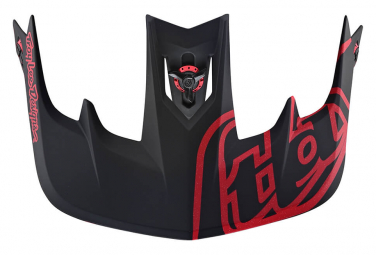 TROY LEE DESIGNS Helmet Visor Stage Black / Red
