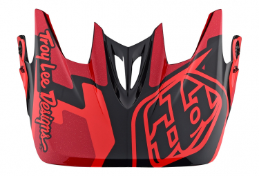 TROY LEE DESIGNS Helmet Visor D3 Speedcode / Red