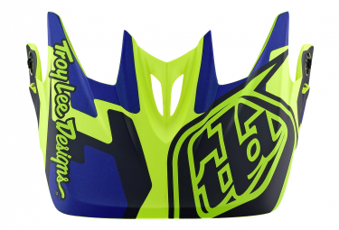 TROY LEE DESIGNS Helmet Visor D3 Speedcode / yellow / Blue