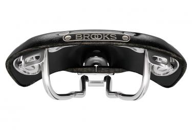Brooks B15 Swallow Steel Unique - Black