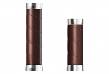 Puños Brooks England Slender - brown silver