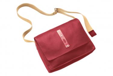 Brooks Euston Canvas Shoulder Bag - Medium - Cherry