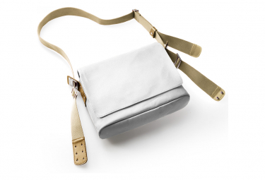 Brooks Paddington Canvas Shoulder Bag White Stone