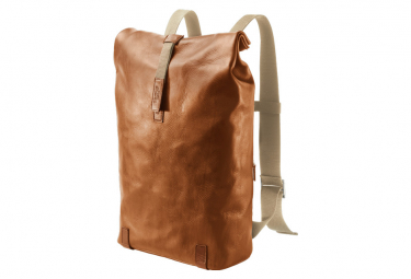 Brooks Pickwick Hard Leather Day Pack - Brown