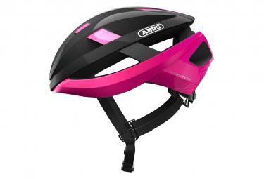 Abus Viantor Helmet Black Fuchsia Pink