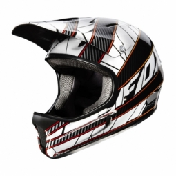 FOX Rampage Helmet 2011 Black / White Size L