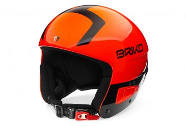 Casque De Ski Briko Vulcano Fis 6.8 Jr Orange Fluo
