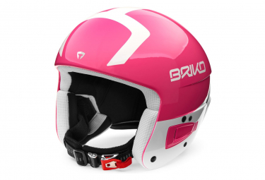 Casque De Ski Briko Vulcano Fis 6.8 Jr Pink White