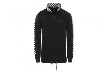 Sweatshirt Vans Mn Versa Quarter Zip Black / Checkerboard