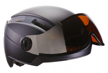 Casque Indra speed 45 avec masque intégré Noir Mat