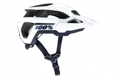 Casco All-Mountain bianco 100% Altec