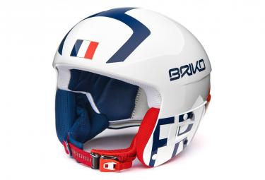 Casque De Ski Briko Junior Vulcano Fis 6.8 France White
