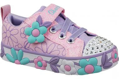 Skechers Daisy Lites 10965N-PKMT Garçon sneakers Rose