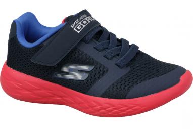 Skechers Go Run 600 97860L-NVRD Garçon sneakers Bleu foncé