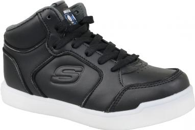 Skechers Energy Lights  90622L-BLK Garçon sneakers Noir