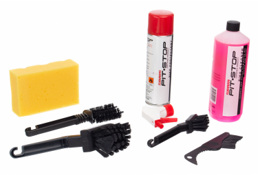 Kit de limpieza SRAM PITSTOP Box 4 Brush y 1 ponge