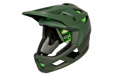 Casque Intégral Endura MT500 Vert